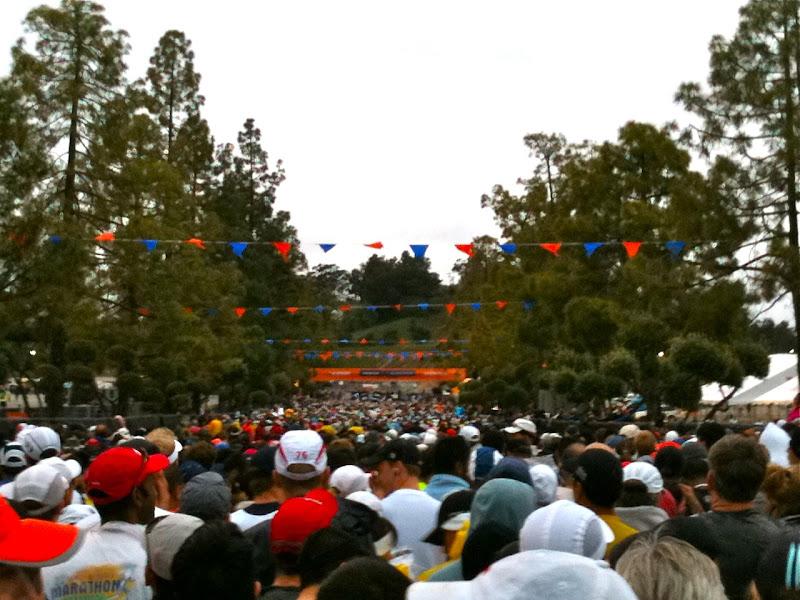 LA Marathon 2011 start