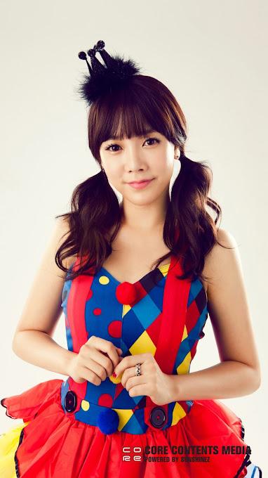 Foto Terbaru Soyeon Dari Aplikasi Official T-ara di Android