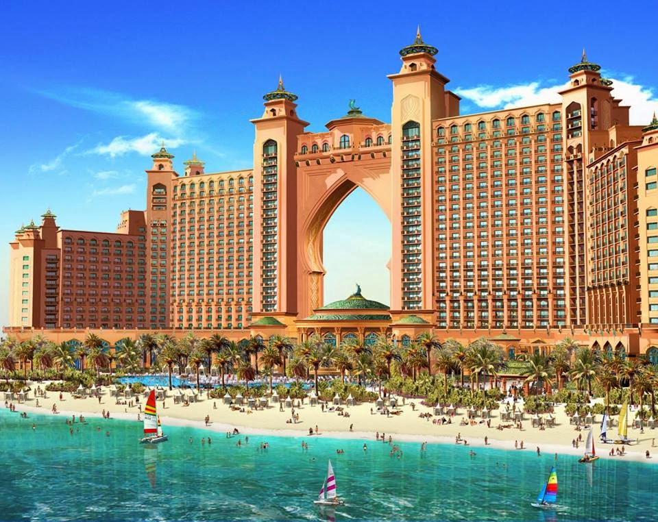 dubai and abu dhabi pictures the best photos ever atlantis the palm. Black Bedroom Furniture Sets. Home Design Ideas
