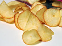Resep makanan cemilan keripik singkong spesial (istimewa) praktis mudah gurih, enak, renyah, crispy, nikmat, sedap lezat