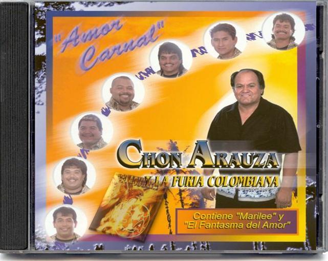 Chon Arauza y La Furia Colombiana - Amor Carnal Lyrics ...