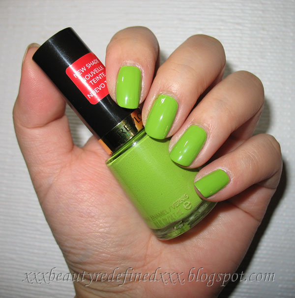 Revlon Nail Polishes: BeautyRedefined By Pang: Revlon Sassy Nail Polish Swatch