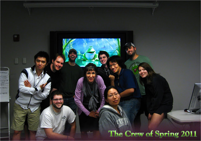 The Crew of Spring 2011