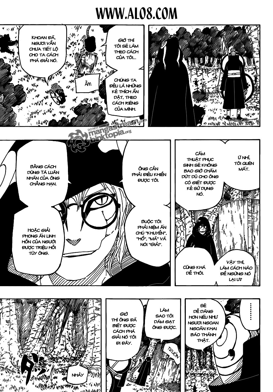 Naruto chap 521 Trang 3 - Mangak.info