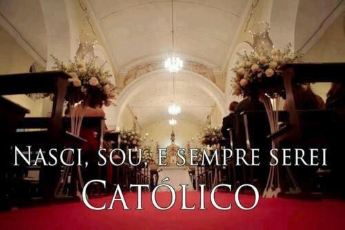 Sou católica