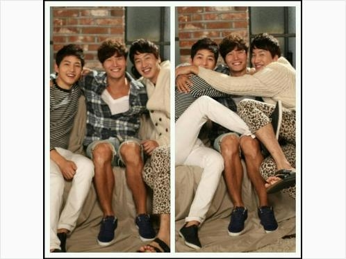Lee Kwang Soo, Kim Jong Kook & Song Joong Ki