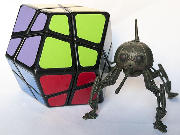 Dodecaedro romboide Skewb - Skewb Rhombic Dodecahedron Skewb Kite