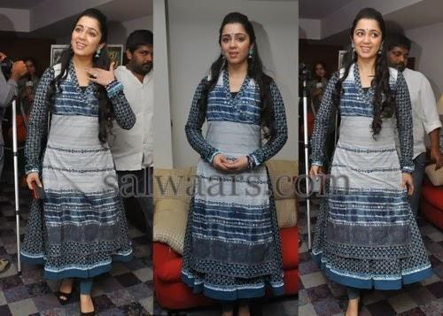 Charmi in Cotton Printed Salwar