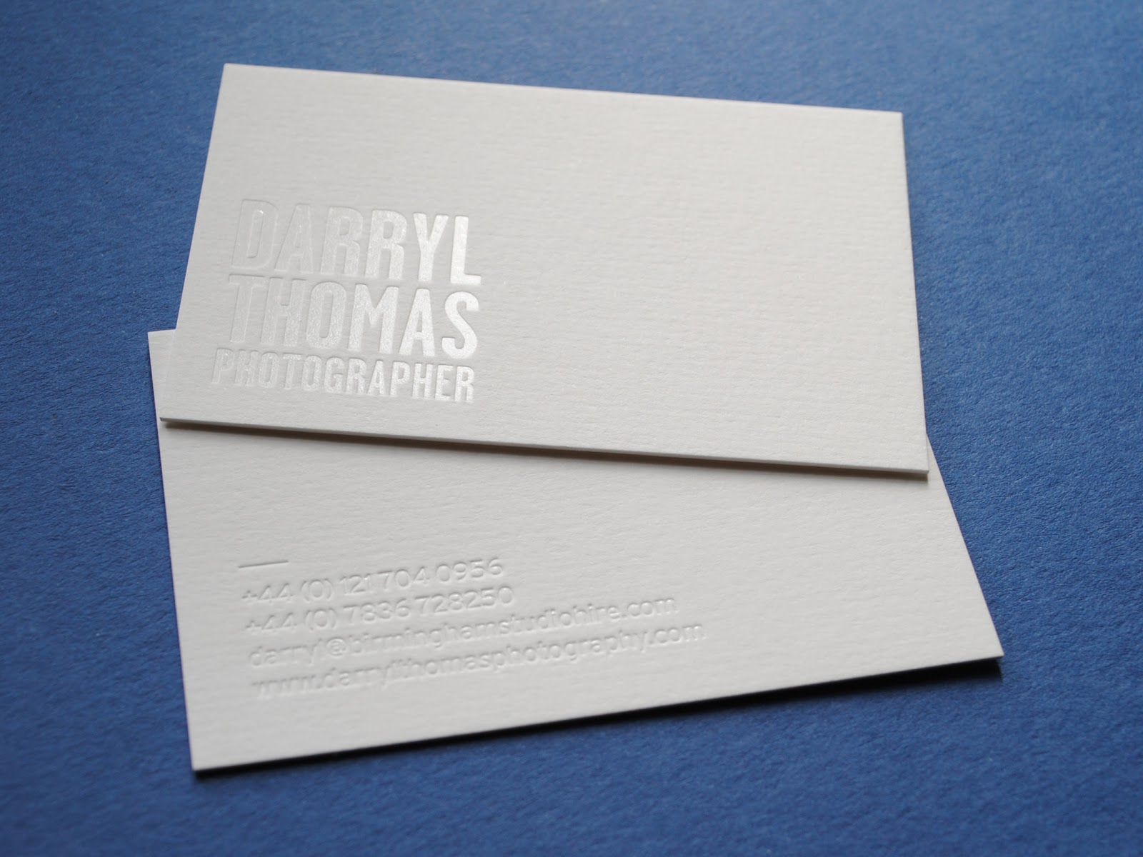Clear foil printing | Hot Foil Business Cards by Auroraprint