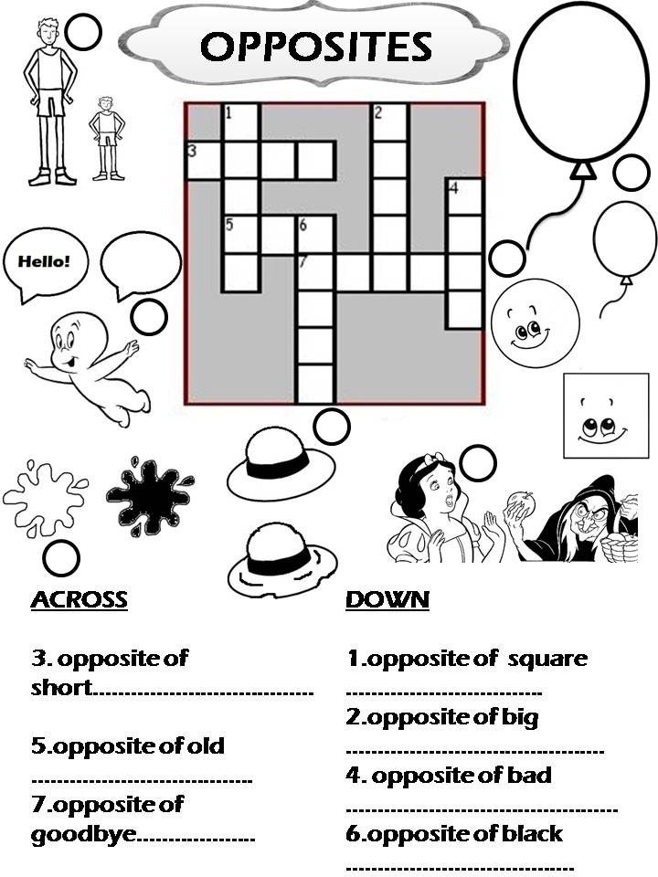 New Year Crossword I just found a crossword