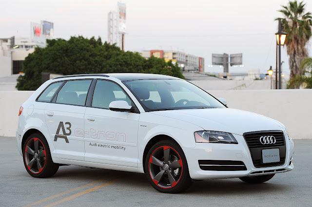 фотографии Audi A3 E-Tron