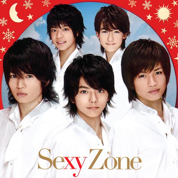 白い衣装のSexy Zone