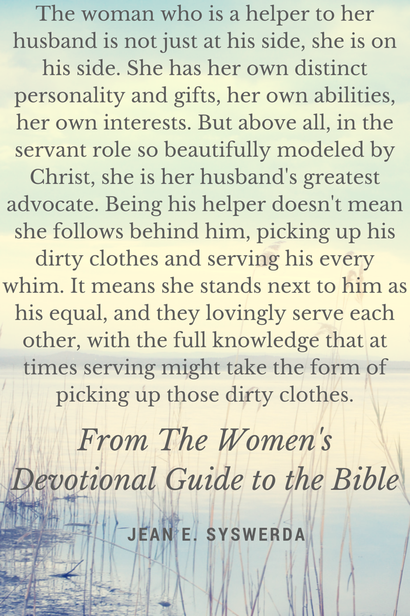 excerpt from The Women's Devotional Guide to the Bible