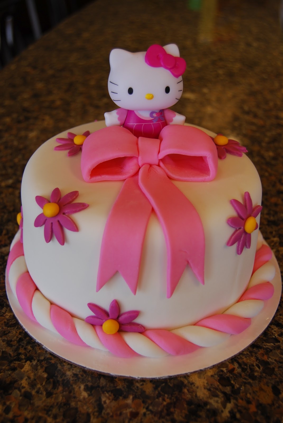 Gamma Susies This n That Hello Kitty Cake
