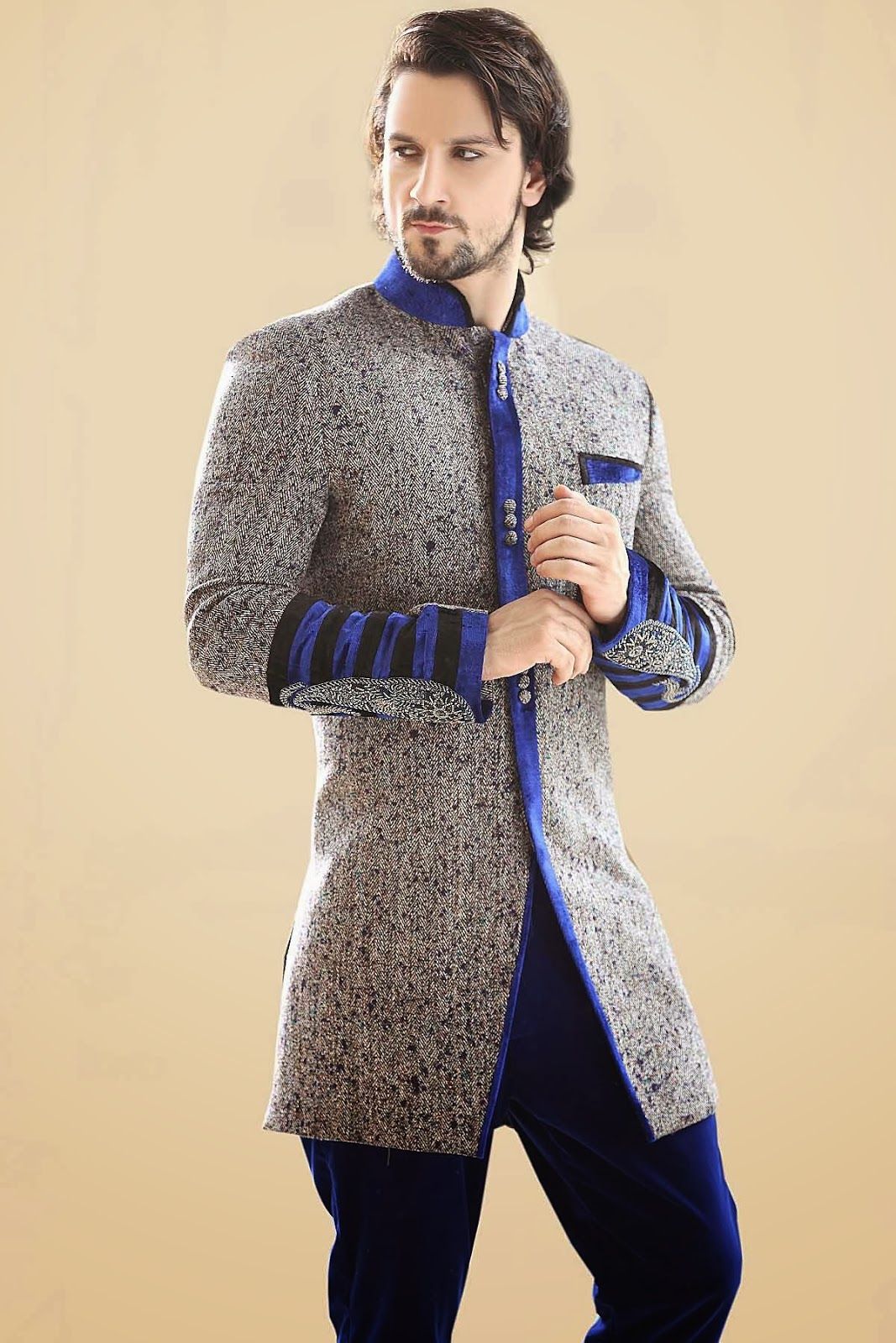 Indo-Western Sherwani – Best Indian Wedding Apparel | Samyakk