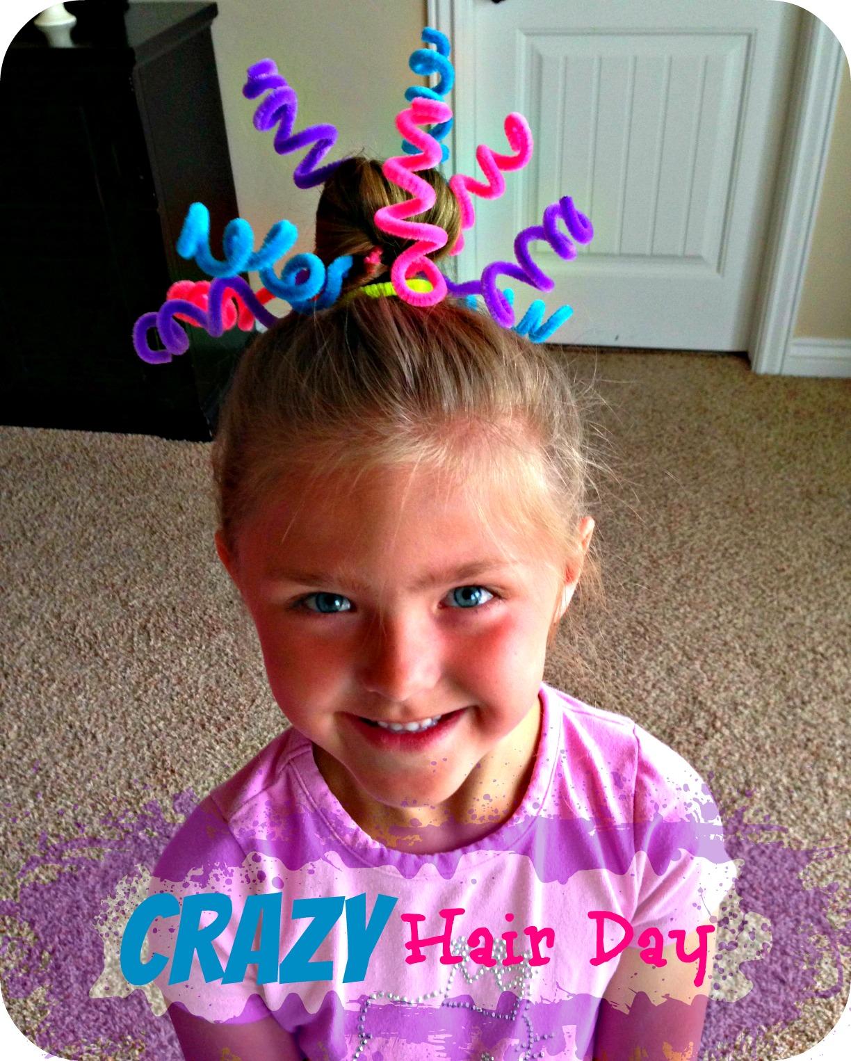 Crazy Hair Day Ideas!  sc 1 st  Blue Skies Ahead & Blue Skies Ahead: Crazy Hair Day Ideas!