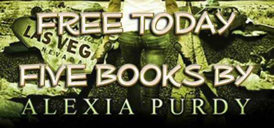 FREE TODAY: Five Books by Alexia Purdy