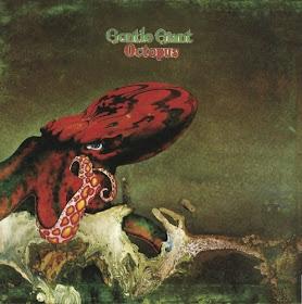 Gentle Giant's Octopus - U.K. artwork