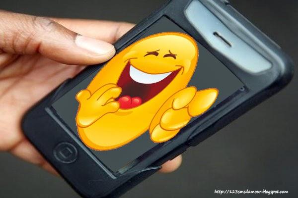 SMS mignon qui fait rire