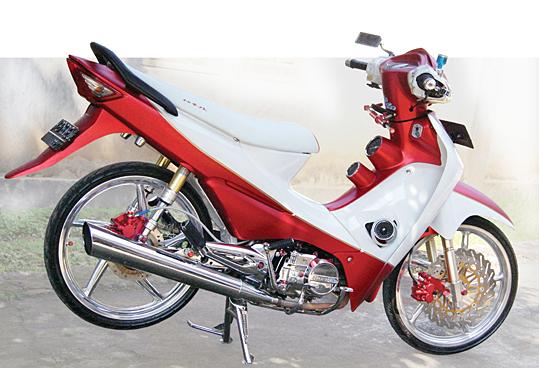Honda Supra Fit Modifikasi. title=