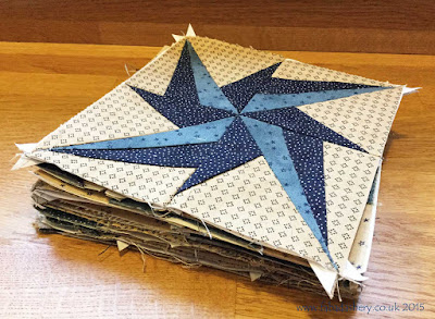 Miniature Block of the Month  2015 - The Quilt Room