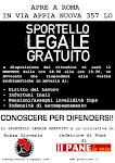 Sportello legale gratuito