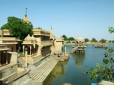 Amar Sagar in Jaisalmer