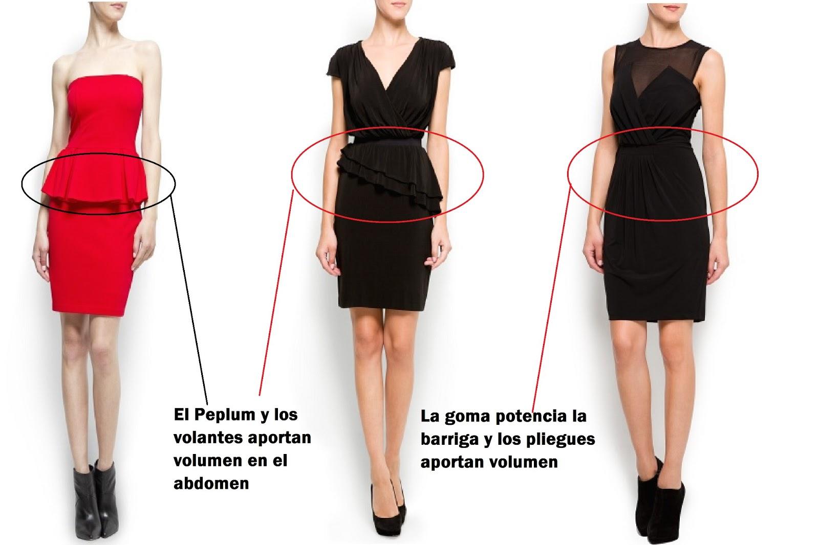 Vestidos de mujer para disimular la barriga