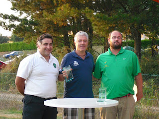 Jorge Rodriguez Sarmiento ganador II Campeonato Galicia Norte Portugal Pitch & Putt