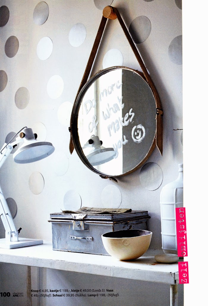 DIV mirror - styling Cleo Scheulderman - photo Alexander van Berge