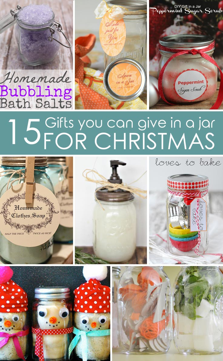 15 christmas gifts in a jar