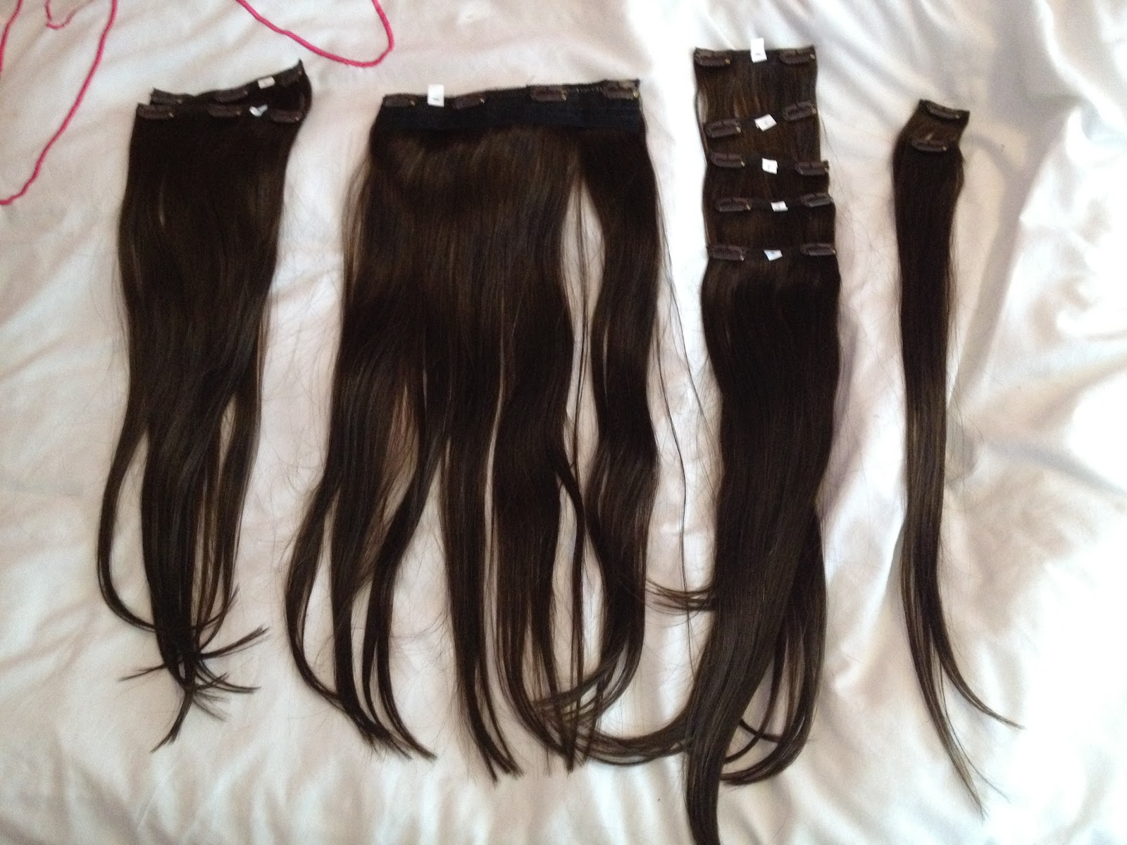 Headkandy Hair Extenstions 20 22 Inches In Shade Espresso Chlos