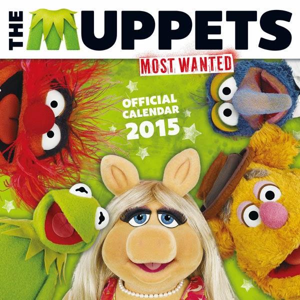 Calendario 2015 Muppets Teleñecos