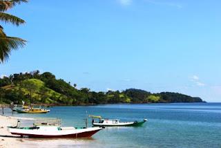 pantai teluk tamiang kotabaru kalsel