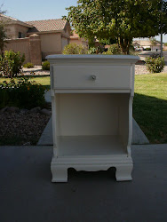Country White Nightstand *SOLD*