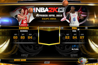 NBA 2K13 National Teams Mod FIBA 2K13