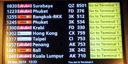 Video dan Senarai Penumpang Pesawat Air Asia QZ8501 Yang Dilaporkan Hilang
