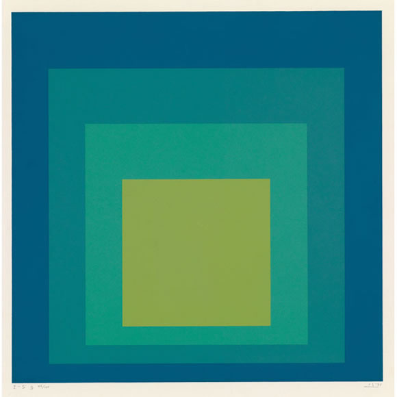 Painting of albers back related keywords painting of for Josef albers color theory