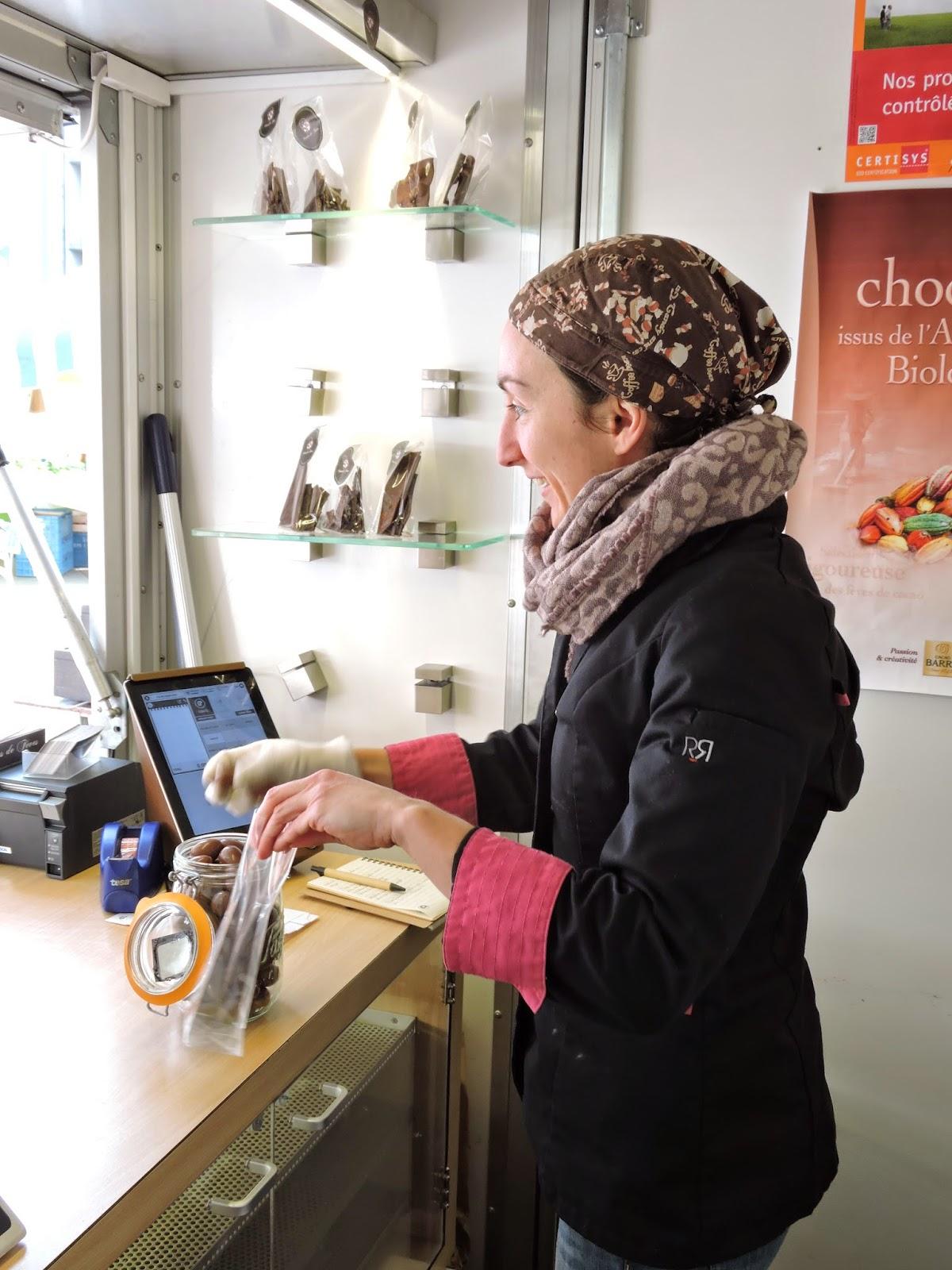 Céline Bouzegza, la chocolatière des Contes de fèves