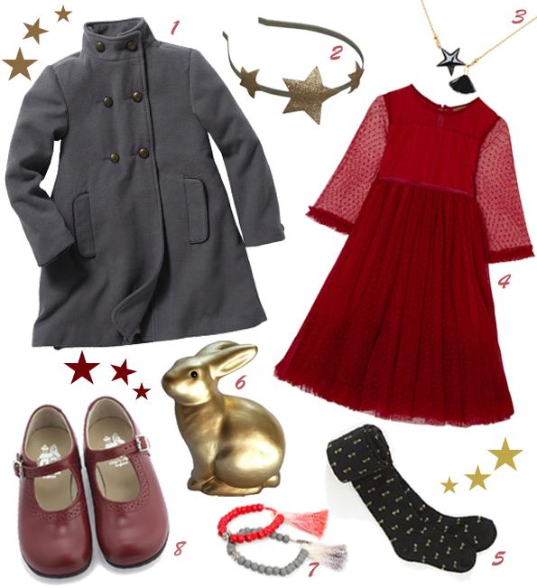 Le look Rouge Noël 2014