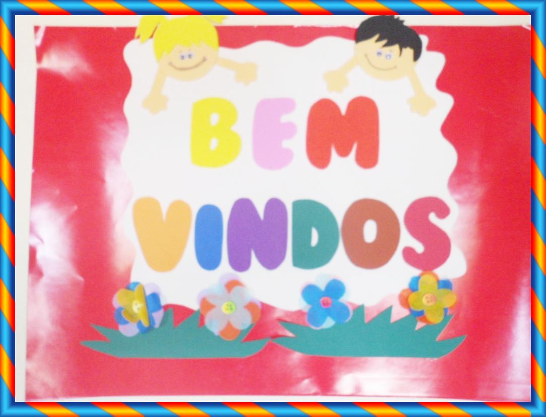 PLACA DE BEM VINDOS