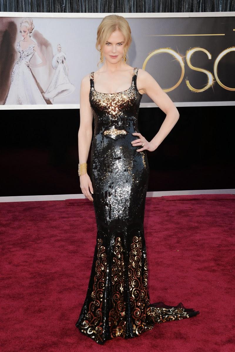 Hermosos vestidos de fiesta de Nicole Kidman | Tendencias