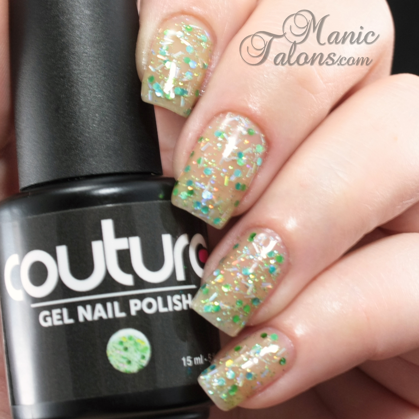 Couture Gel Polish All That Glitters Collection Sugar Daddy Swatch
