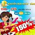 iOnline khuyến mãi ngày vàng 19-09 lên đến 150%
