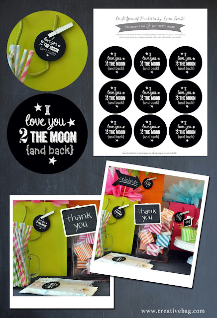 Creative Bag free download for party favors