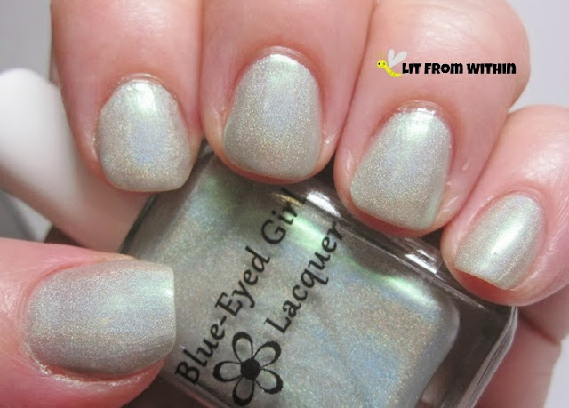 Blue-Eyed Girl Lacquer:  Dorkhead? You Slash Me with Your Words!