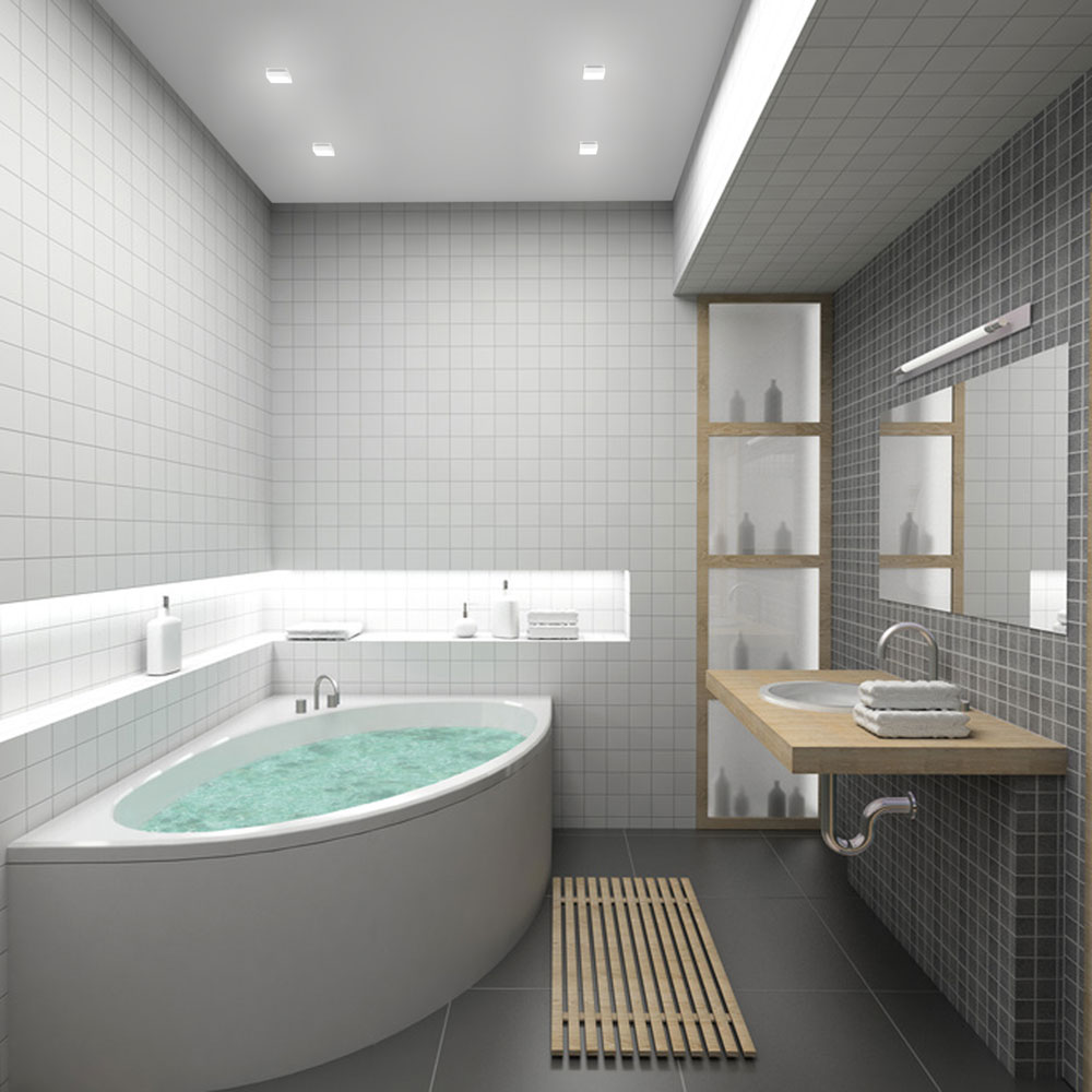 designs for small bathrooms 1 Projetos para banheiros pequenos