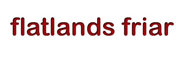 FlatlandsFriar
