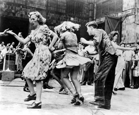 1940s Swing Dance #lindy #hop #swing #dance #vintage #40s #1940s