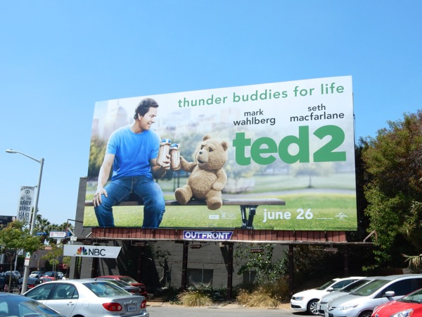 Ted 2 Thunder buddies billboard